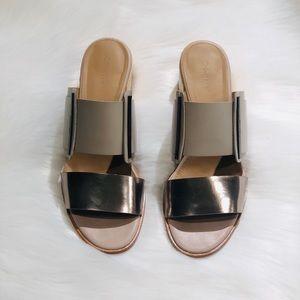 NWOT Calvin Klein Slides Sandals